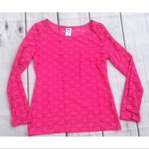 ☀️4/25 Rock 47 by Wrangler Lace Long-Sleeve Shirt